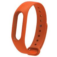Ремінець для фітнес браслету Mi Band 2 (Silicon) Orange
