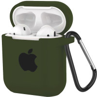 Silicone Case for AirPods Dark Green (48)