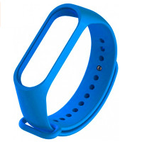Ремінець для фітнес браслету Mi Band 3/4 (Silicon) Blue