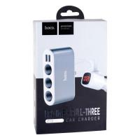 Автомобільний Зарядний Пристрій Hoco Z13 LCD