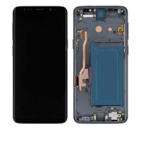 Дисплейний модуль Samsung G960 Galaxy S9, з рамою, Original PRC, Titanium Grey