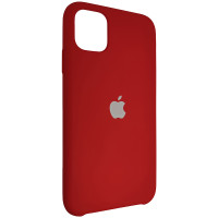 Чехол Copy Silicone Case iPhone 11 China Red (33)