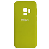 Чохол Silicone Case for Samsung S9 Sun Yellow (43)