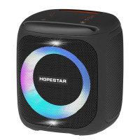 Портативна колонка Hopestar Party 100 LED (Чорний)