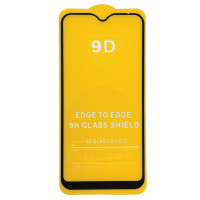 Захисне скло Full Glue Exclusive для Huawei Y6 2019 - (0.2mm) Black