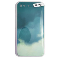 Чохол Silicone Water Print iPhone 7/8 Plus Mix Color Green