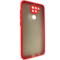 Чехол Totu Camera Protection для Xiaomi Redmi Note 9 Red
