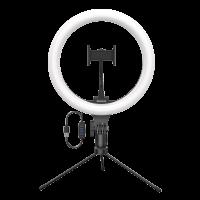 Лампа Baseus Live Stream Holder-table Stand (10-inch Light Ring) CRZB10 Колір Чорний, A01