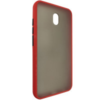 Чохол Totu Copy Gingle Series for Xiaomi 8A Red+Black