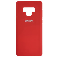Чохол Silicone Case for Samsung Note 9 Red (14)