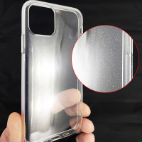 Чохол Molan Cano Silicone Glitter Clear Case iPhone 12/12 Pro