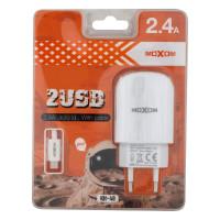 Мережевий Зарядний Пристрій Moxom KH-48 Micro White