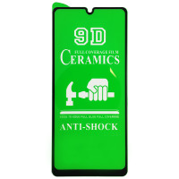 Защитное стекло Heaven Ceramica для Samsung A12 (0,2 mm) Black