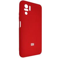 Чохол Silicone Case for Xiaomi Redmi Note 10 Red (18)