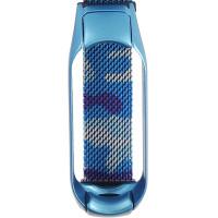 Ремінець для фітнес браслету Mi Band 5 Milanese Camo Blue