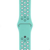 Ремінець для Apple Watch (42-44mm) Nike Sport Band Ocean Blue/Black