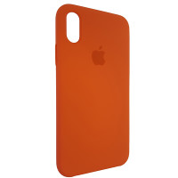 Чохол Copy Silicone Case iPhone X/XS Orange (13)