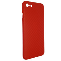 Чохол Anyland Carbon Ultra thin для Apple iPhone 7/8/SE Red