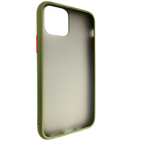 Чохол Totu Copy Gingle Series for iPhone 11 Pro Dark Green+Orange