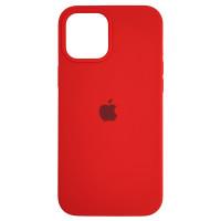 Чехол Copy Silicone Case iPhone 12 Pro Max Red (14)
