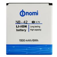 Акумулятор Original Nomi NB42 (1500 mAh)