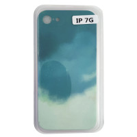 Чохол Silicone Water Print iPhone 7/8 Mix Color Green