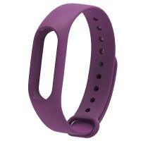Ремінець для фітнес браслету Mi Band 2 (Silicon) Violet
