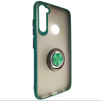 Чохол Totu Copy Ring Case Xiaomi Redmi Note 8 Green+Black