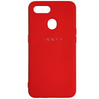 Чохол Silicone Case for Oppo A12\A7 Red (14)