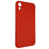 Чохол Anyland Carbon Ultra thin для Apple iPhone XR Red