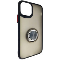 Чохол Totu Copy Ring Case iPhone 11 Pro Black+Red