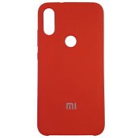Чохол Silicone Case for Xiaomi Mi Play Red (14)