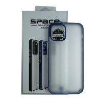 Чохол Space 2 Smoke Case for iPhone 12/12 Pro Blue