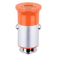 Автомобільний Зарядний Пристрій LDNIO C61C Type-C to Type-C