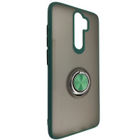 Чохол Totu Copy Ring Case Xiaomi Redmi Note 8 Pro Green+Black