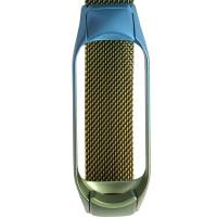 Ремінець для фітнес браслету Mi Band 5 Milanese Gradient Blue/Yellow