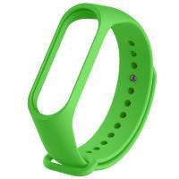 Ремінець для фітнес браслету Mi Band 3/4 (Silicon) Green