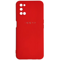 Чохол Silicone Case for Oppo A52\A72 Red (14)