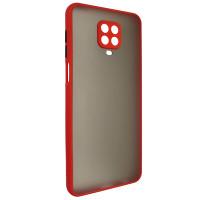 Чехол Totu Camera Protection для Xiaomi Redmi Note 9S/9 Pro Red