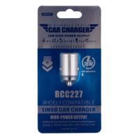 Автомобільний Зарядний Пристрій Remax RCC227 18w QC 3.0 Dark Gray