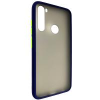 Чохол Totu Copy Gingle Series for Samsung A50S Blue+Light Green
