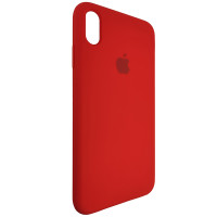 Чехол Copy Silicone Case iPhone XS Max Red (14)