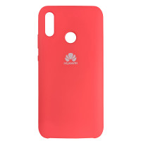 Чохол Silicone Case for Huawei P Smart 2019 Red (14)
