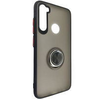 Чохол Totu Copy Ring Case Xiaomi Redmi Note 8 Black+Red