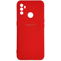 Чохол Silicone Case for Oppo A53 Red (14)