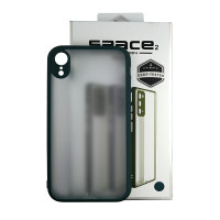 Чохол Space 2 Smoke Case for iPhone XR Green