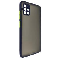 Чехол Totu Camera Protection для Samsung A51 Dark Blue