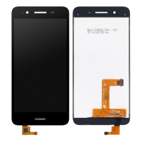 Дисплейний модуль Huawei GR3 2015, P8 Lite Smart (TAG-L01), Enjoy 5s, Original PRC, Black