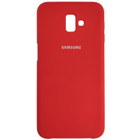 Чохол Silicone Case for Samsung J610 Red (14)