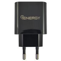 Зарядний пристрій iEnergy HC-3Q Travel Adapter, 3А, QC3.0